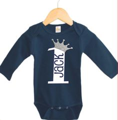 Boys First Birthday Outfit Boys Birthday by TheMonogrammedPrep