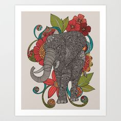 Ruby Art Print by Valentina Harper - $18.00