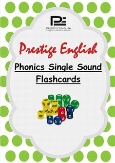 Phonics Single Sound Flashcards ( Jolly Phonics / Letterland ) FREEBIEThis flashcard pack contains 25 single sounds with useful actions to assist young learners to remember and retain the single sounds for reading/blending practise.Can be used as lesson flashcards or classroom decoration.Sound Content:S, A, T, I, P, N, C, K, E, H, R, D, M, G, O, U, L, F, B, J, Z, W, V, Y, XNOTE 1: the ordering of the single sound letters have been developed in order of their usage and popularity within the…