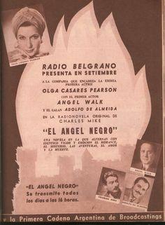 Radio Belgrano, Buenos Aires.
