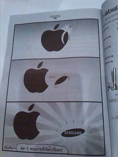 Apple & Samsung # humor-lustig - Technology News Crazy Funny Memes, Really Funny Memes, Stupid Funny Memes, Funny Relatable Memes, Funny Texts, Hilarious Sayings, Funny Memes For Him, Funny Images, Funny Photos