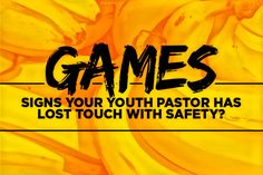 Here's a list of the top 10 not-so-safe games we play at church.