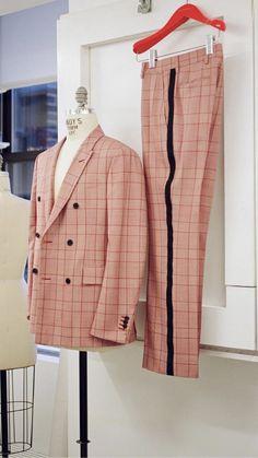Calvin Klein Suit Harry Styles Live On Tour