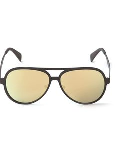 round tinted sunglasses - White Italia Independent UmODRb