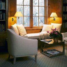decor, cozi, interior, idea, dream, librari, nook, hous, window seats