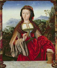 Quentin Metsys. María Magdalena. 1466-1530. ConSentido Propio: María Magdalena: Equívoco y Misterio (1)