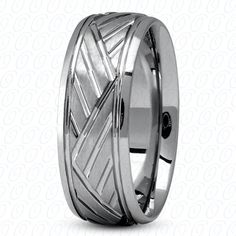 MODERN PALLADIUM WEDDING BAND