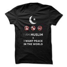 REAL MUSLIM WANTS PEACE! T Shirt, Hoodie, Sweatshirt✖️✖️More Pins Like This One At FOSTERGINGER @ Pinterest✖️‬