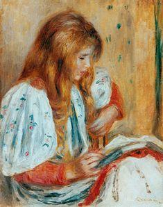 Reading and Art: Pierre Auguste Renoir 1