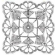 Kira scheme crochet: Scheme crochet no. 1987