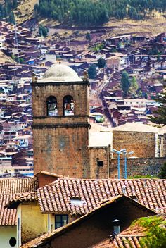 Peru-cusco tower #travel