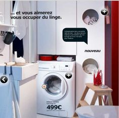 1000 Images About Amenagement Buanderie On Pinterest Laundry Rooms Laundry And The Laundry