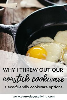Why Nonstick Cookware Isn't Safe Safest Cookware, Cookware Set, Clean Eating, Healthy Eating, Free Groceries, Green Living Tips, Natural Kitchen, Organic Living, Healthy Alternatives