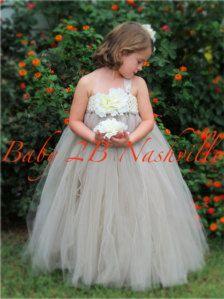 Flower Girl Dressses: Handmade & Vintage, Long & Short - Etsy
