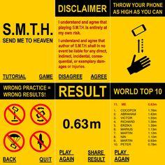 Send Me To Heaven aka die beste App der Welt – Werf dein Smartphone so hoch, wie du kannst on http://www.drlima.net