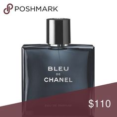 Bleu de CHANEL 1 large bottle of their best selling mens cologne Bleu de Chanel 5fl oz/150ml. This is almost full and has only been used on a handful of occasions, authentic and was bought this year comes with the holiday box as well. This is the largest bottle size they sell & retails for $160+ sales tax so no low ball offers please CHANEL Other