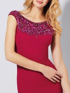 Βαθύ κόκκινο φόρεμα γκαλά