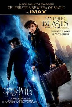 Harry Potter IMAX event opens October 13, 2016.