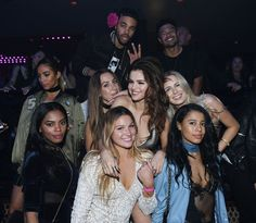 Pin for Later: Selena Gomez Celebrates Her Revival Tour With a Sexy Night Out in Sin City