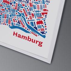 Hamburgs gewaltige Wasser mit den Containerschiffen unter den Stahlgerüsten der Werften lassen einen selbst schon ziemlich winzig wirken. Aber nich...