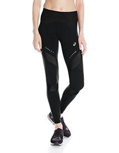 ASICS Women's Leg Balance Compression Tights, Balance Black, X-Small