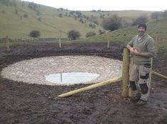 The Earth's eyes: Restoring the lost dew ponds