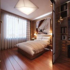 28 Stunning and Cozy Modern Bedroom Ideas #ModernBedroomIdeas