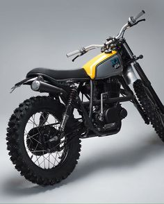 Yamaha XT600 custom scrambler