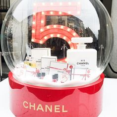 Chanel Christmas Snow Globe
