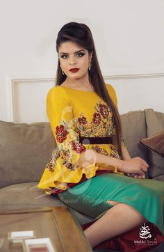 Traditional Fashion, Traditional Dresses, Designer Wear, Designer Dresses, Afghan Dresses, Moroccan Dress, High Fashion, Womens Fashion, Couture