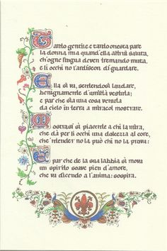dante alighieri poems