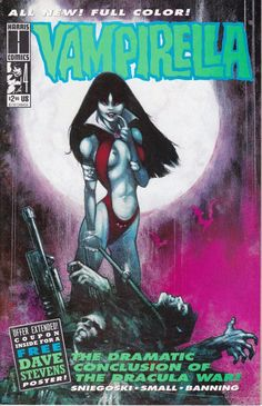 Vampirella 4  July 1993 Issue  Harris Comics  Grade by ViewObscura