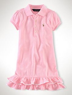 Ralph Lauren Kids Girls Dresses ,pink dress
