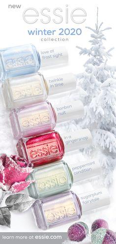 Cute Nails, Pretty Nails, Nail Tips, Nail Ideas, Winter Nails, Natural Nails, Nail Colors, Essie Nail Polish Colors, Nails Inspiration