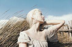 #summer #portrait #fashion #girl #white #beach   #hair #sea #shooting #outfit #beauty #free
