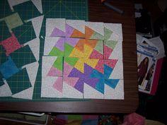 Twister Quilt Block Tutorial - Just creating in my studio