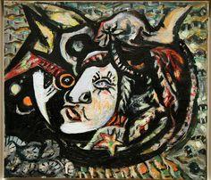 Jackson Pollock, Mask, 1941, MOMA