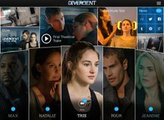Download the OFFICIAL #Divergent iPad app for character guides, video clips, trailers and all your favorite Divergent content! Available for free via iTunes!