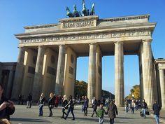 Puerta de Bradenburgo, en Berlín.