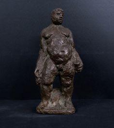 Hubert van Lith: Bronzen sculptuur, Man