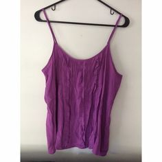 Forever 21 Purple tank top! Very cute purple tank top! Great to dress up or even dress down! Forever 21 Tops Tank Tops