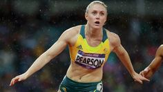 Australia's Sally Pearson wins Gold in the women's 100m hurdles