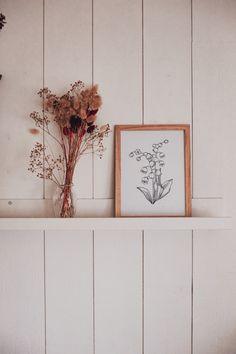 Brin de muguet à imprimer #muguet #diy #illustration #végétal #Lilyofthevalley Diy, Vase, Illustration, Home Decor, Decoration Home, Bricolage, Room Decor, Do It Yourself, Illustrations