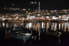 Port of Pothia by night Jpg, Greek Islands, More Photos, Greece, Night, Greek Isles, Greece Country