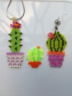 Cacti, Crochet Earrings, Jewelry, Cactus Plants, Jewlery, Bijoux, Jewerly, Jewelery, Jewels