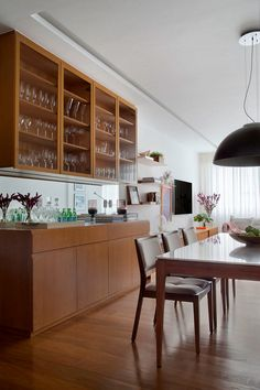 Bar Sala, Buffet Cabinet, Brunch Buffet, Decoration, New Homes, Sweet Home, Dining Room, Kitchen, Table
