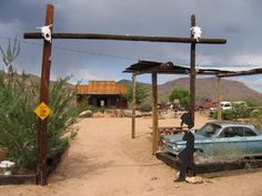 Route 66 in AZ.