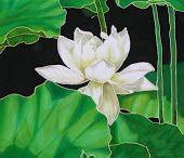 Silk art: Silk Painting - Techniques