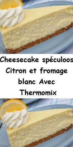 Thermomix Cheesecake, Cheesecake Speculoos, Thermomix Desserts, No Cook Desserts, Keto Cheesecake, Cheese Recipes, Cake Recipes, Dessert Recipes, Kneading Dough