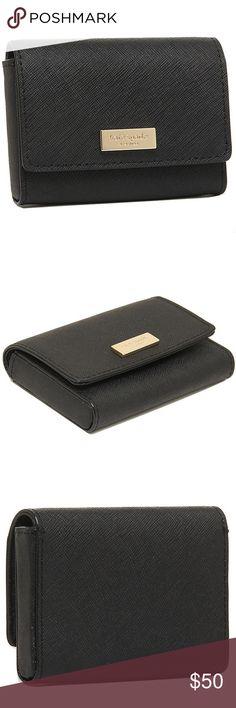 "Kate Spade Newbury Lane Wallet - Mint Color • cute small wallet • length 4"" width 3"" depth 3/4"" kate spade Bags Wallets"